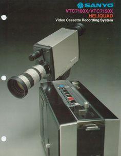 Sanyo portable video system