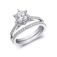 #Engagementring Brand: #CoastDiamond style: (#LC5396)  Go visit www.diamondconnectiononline.com to order this ring.