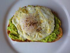 Fried Egg & Avocado Toast