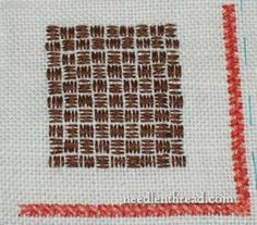 Embroidery Stitch Video Tutorial: The Running Stitch & Finishing Threads