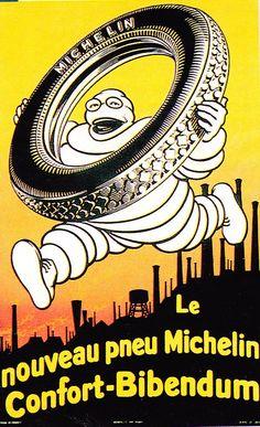 Publicité Michelin vintage...  Et les nouveaux pneus Michelin c'est par là:   http://www.allopneus.com/Gamme-michelin-1,7,8-106.html