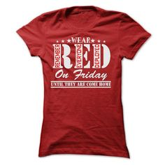 Wear Red On Friday U… 103 sold, 2 day left! Buy Your T-shirts Now ! Buy Your T-shirts Now ! Proud U S Army Mom 171 sold, 9 day left! Buy Your T-shirts Now ! Buy Your T-shirts Now … Home T Shirts, Tee Shirts, Xmas Shirts, Work Shirts, Funny Shirts, Wear Red On Friday, Red Friday, Cupcake T Shirt, Veteran T Shirts