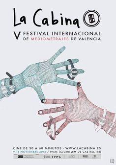 La Cabina: Festival Internacional de Mediometrajes 2012 en Instituto Valenciano de Arte Moderno (IVAM), Valencia el 9 de noviembre 2012 en notikumi