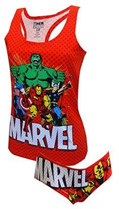 Marvel Comics Avengers Racer Back Tank & Panty Set for women (Small) WebUndies.com http://www.amazon.com/dp/B00N591AAW/ref=cm_sw_r_pi_dp_tbVDub0DXN1X5