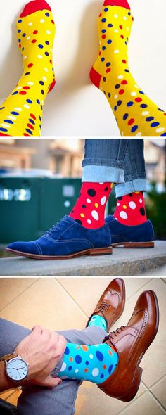 We design crazy socks for men and women. New cool socks launching every month. Designed to be the best socks you've ever worn. High quality funny socks designed to get compliments. Funky Socks, Colorful Socks, My Socks, Happy Socks, Crazy Socks For Men, Funny Socks For Men, Fashion Socks, Mens Fashion, Unique Socks