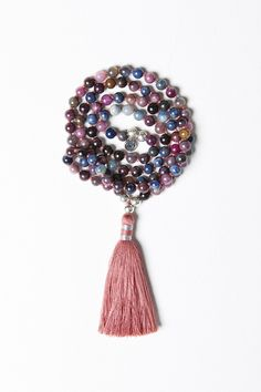 Luxe — Ruby and Sapphire Mala (online exclusive)