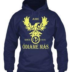 Buy Club America , Odiame Mas - Ame Since 1916 Gildan Hoodie Sweatshirt at Wish - Shopping Made Fun Wish Shopping, Hoodies, Sweatshirts, America, Fun, Fashion, Club America, Moda, Fashion Styles