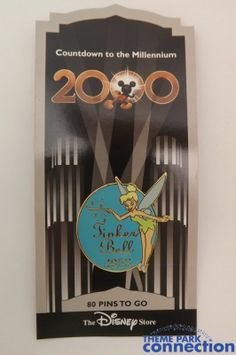 Disney Store Countdown to the Millennium Series 2000 TINKER BELL Peter Pan Pin