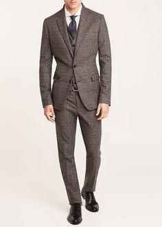 Prince of Wales suit blazer  #men // #fashion // #mensfashion