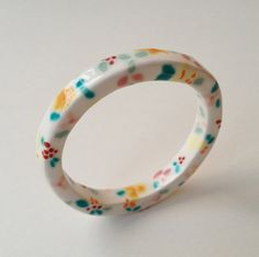 Handmade ceramic bracelet by Fulton & Co.