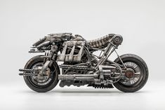 Moto-Terminator – The Fully-Rideable Ducati Hypermotard-Based Terminator Salvation Stunt Bike - Dr Wong - Emporium of Tings. Ducati Monster 1100, Triumph Motorcycles, Concept Motorcycles, Vintage Motorcycles, Ducati 1100, Ducati Hypermotard, Stunt Bike, Motocross, Mopar