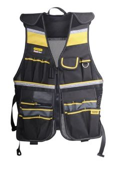 Tool Vest Electrician Carpenter Storage Belt Construction Pouch Plumber Bag New #Stanley