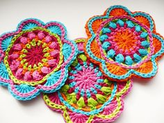 One of these days someone has got to teach me how to crochet...