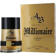 Ab Spirit Millionaire By Lomani Edt Spray 3.4 Oz
