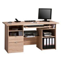 Maja Kensington Home Office Oak Computer Workstation