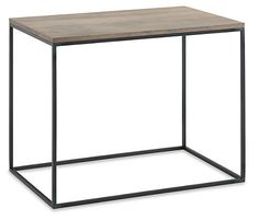 Tyne End Tables in Natural Steel - End Tables - Living - Room & Board