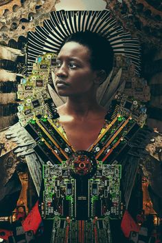 Jua Kali Photomontage by Tahir Carl Karmali Photomontage, Computer Parts And Components, Afro Art, African Art, African Dress, Photos, Pictures, The Guardian, Black Art