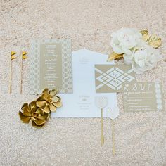 Modern Palm Springs invitation   photo by Joielala   Invite design Amber Moon with Pitbulls