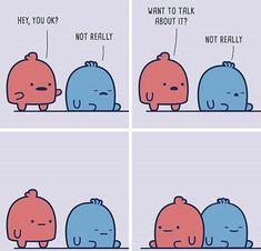Cute Memes, Funny Cute, Funny Jokes, Cute Comics, Funny Comics, Mal Humor, Cute Stories, Wholesome Memes, Cheer Up