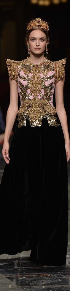 #Farbbberatung #Stilberatung #Farbenreich mit www.farben-reich.com Dolce & Gabbana spring 2016 couture