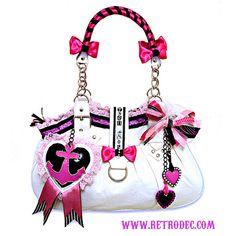 Sunken Treasures Kitsch/Rockabilly Anchor Handbag