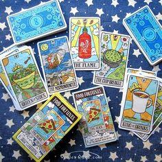 Food Fortunes Cards (Tarot Humor / Novelty) / Photo © www.VioletAura.com