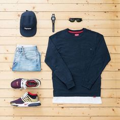 Sometimes all you need to do is keep it simple WHAT MEN WEAR G.Q Style.