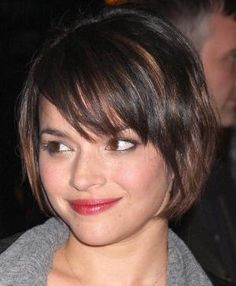 Trendy Short Layered Hairstyles with Bangs Hair for Women in Fall Season | Trendy 2012 Haircuts and Hairstyles Pictures Gallery by melva