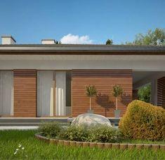 Z321 to wyjątkowy dom z kategorii projekty domów z dachem czterospadowym Home Projects, House Plans, Pergola, Garage Doors, Sweet Home, Outdoor Structures, Outdoor Decor, Home Decor, Living Room