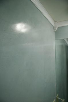 Venetian plaster  ~ My bedroom wall color in the venetian~