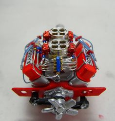 SCALE MODEL ENGINE