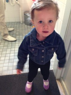 My pretty little girl