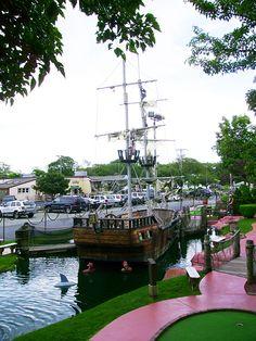 Pirate's Cove, best miniature golf course around!