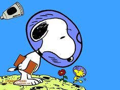Snoopy,I like this gy since I was a kid he says a lot without opening his mouth .