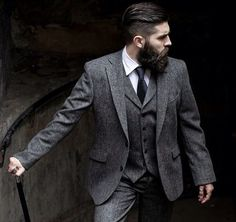Nice suit & even nicer beard!