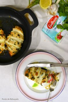 Ponto de Rebuçado Receitas: Peito de frango com queijo mozzarella