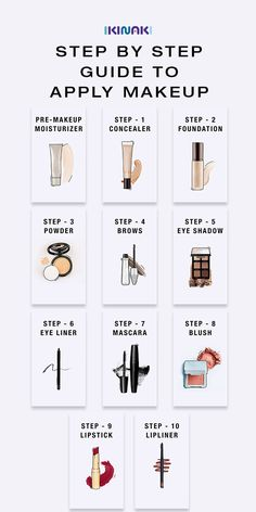 Step by step instructions for applying makeup – Discover the steps to make makeup in the perfect order. Buy the right – # for Step by step instructions for applying makeup – Discover the steps to make makeup in the perfect order. Buy the right Makeup Order, How To Apply Makeup, Steps For Applying Makeup, Farmasi Cosmetics, Makeup Tutorial Foundation, Makeup Foundation, Flawless Foundation Application, Drugstore Foundation, Makeup Application