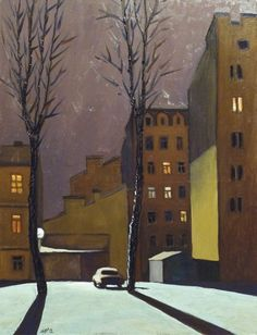 Ruben Monakhov. Frosty evening