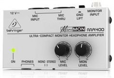 Behringer MicroMON MA400 http://ehomerecordingstudio.com/best-headphone-amplifier-reviews/