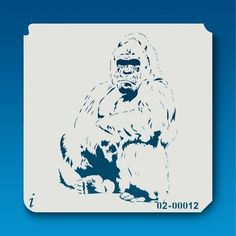 02-00012 Gorilla Stencil