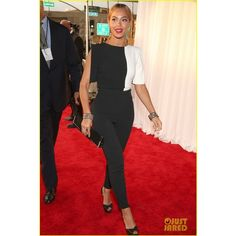 Beyonce Grammys 2013 Red Carpet ❤ liked on Polyvore