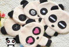 Cute Panda coin purses