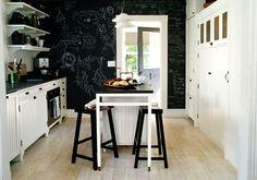 Pareti Di Lavagna : Foto la cucina con la parete in lavagna di officina abitare
