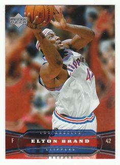 Elton Brand # 76 - 2004-05 Upper Deck Basketball