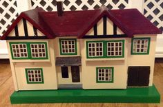 Vintage Triang No 62 Dolls House Doll Houses, Vintage Dolls, Miniatures, Memories, Interior Design, Holiday Decor, Home Decor, Design Interiors, Homemade Home Decor