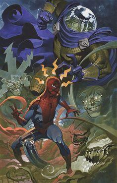Spider-Man Vs Sinister Six | Chris Stevens
