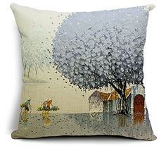 East Melody® Cotton Linen Square Decorative Throw Pillow Cover Cushion Case Pillow Case 18 X 18 Inches / 45 X 45 cm, Vietnamese Green Pastoral Landscape (tree 002) East Melody http://www.amazon.com/dp/B00DKIO5IC/ref=cm_sw_r_pi_dp_24Lcvb1Q2EZN9