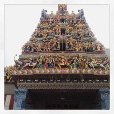 This temple and its ornate touches is breathtakingly beautiful. Village Hotel, Singapore, Temple, Instagram Posts, Beautiful, Temples