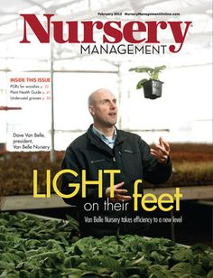 We're very excited to be profiled in this month's Nursery Management Magazine. Check out our cover story and find out about our adventures in Lean Manufacturing!