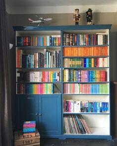 Ikea 'Liatorp' bookcase hack by @greatstarofafrica